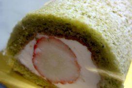 プチ・ラパンのひな祭りケーキ【さくらロール】