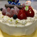 京都・長岡京プチ・ラパンの2017年クリスマスケーキ